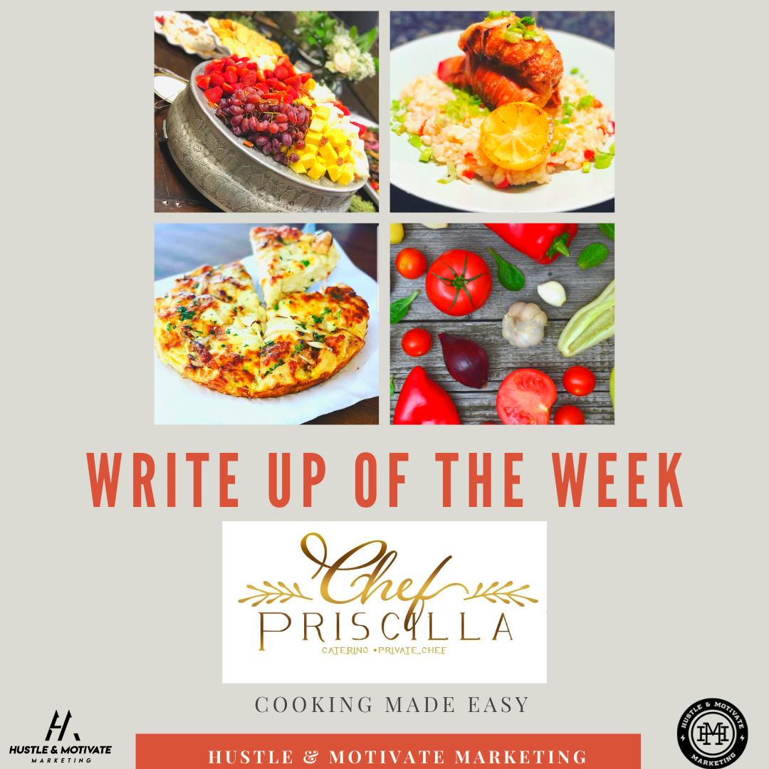 W.U.O.T.W: Chef Priscilla