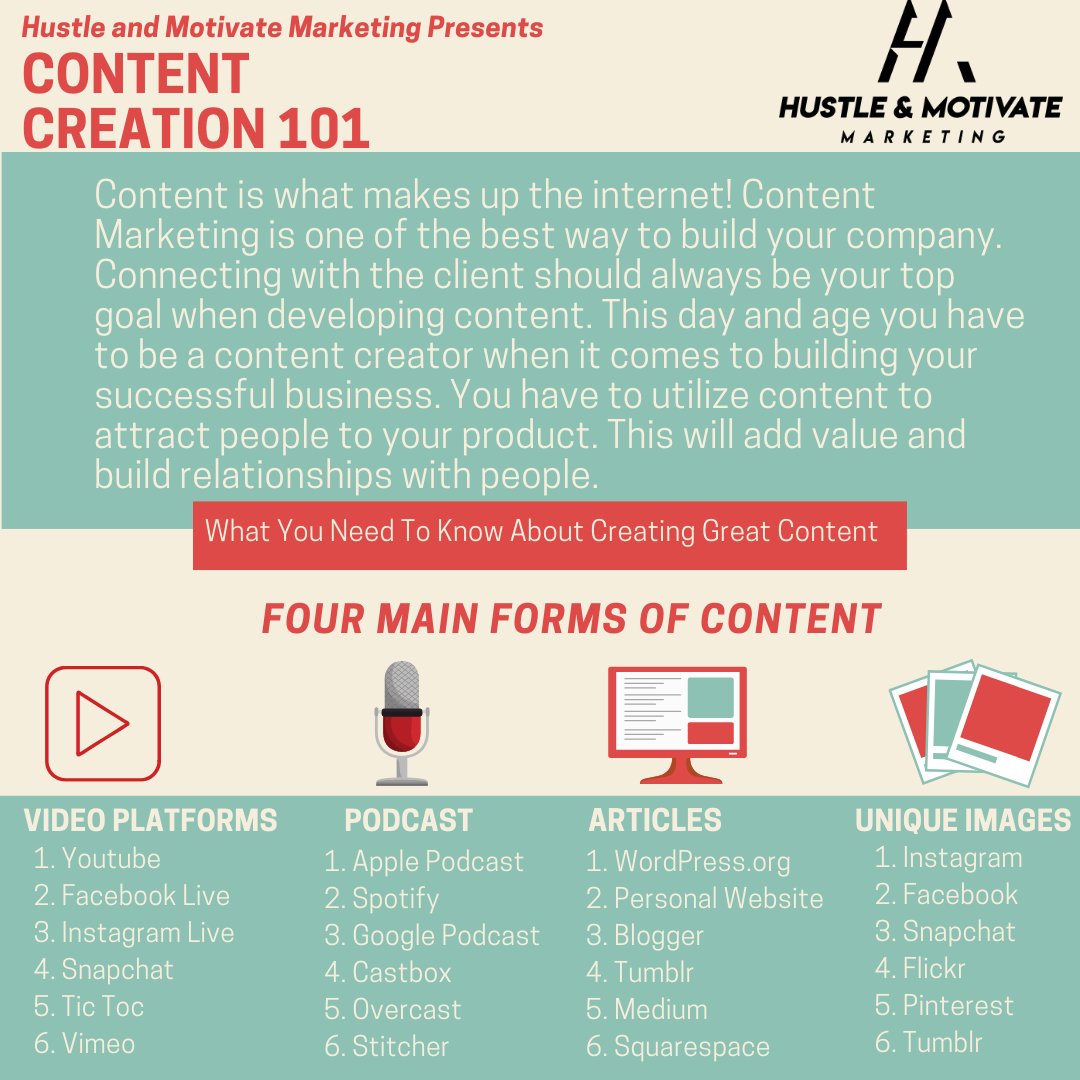 Marketing Monday Tips: Content Creation 101