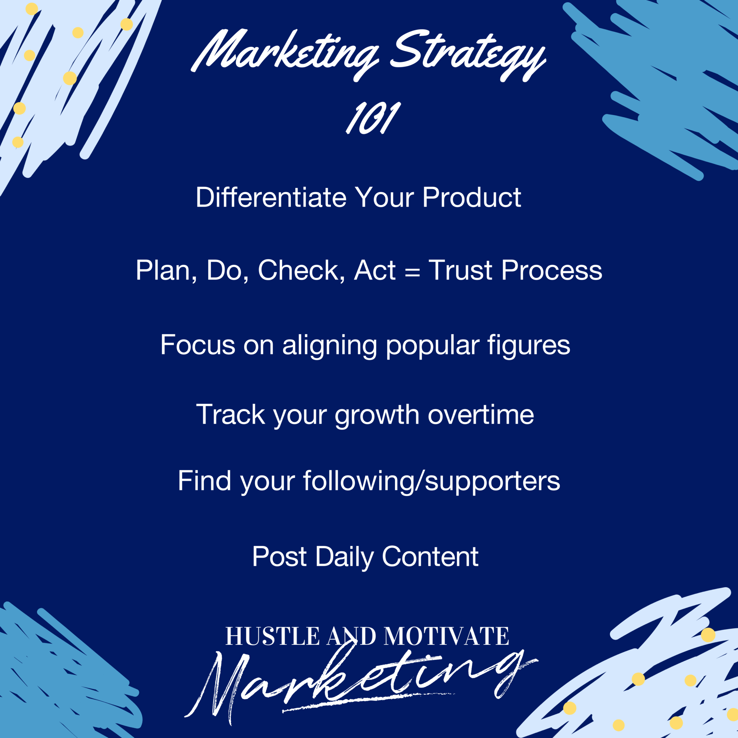 Marketing Strategy 101