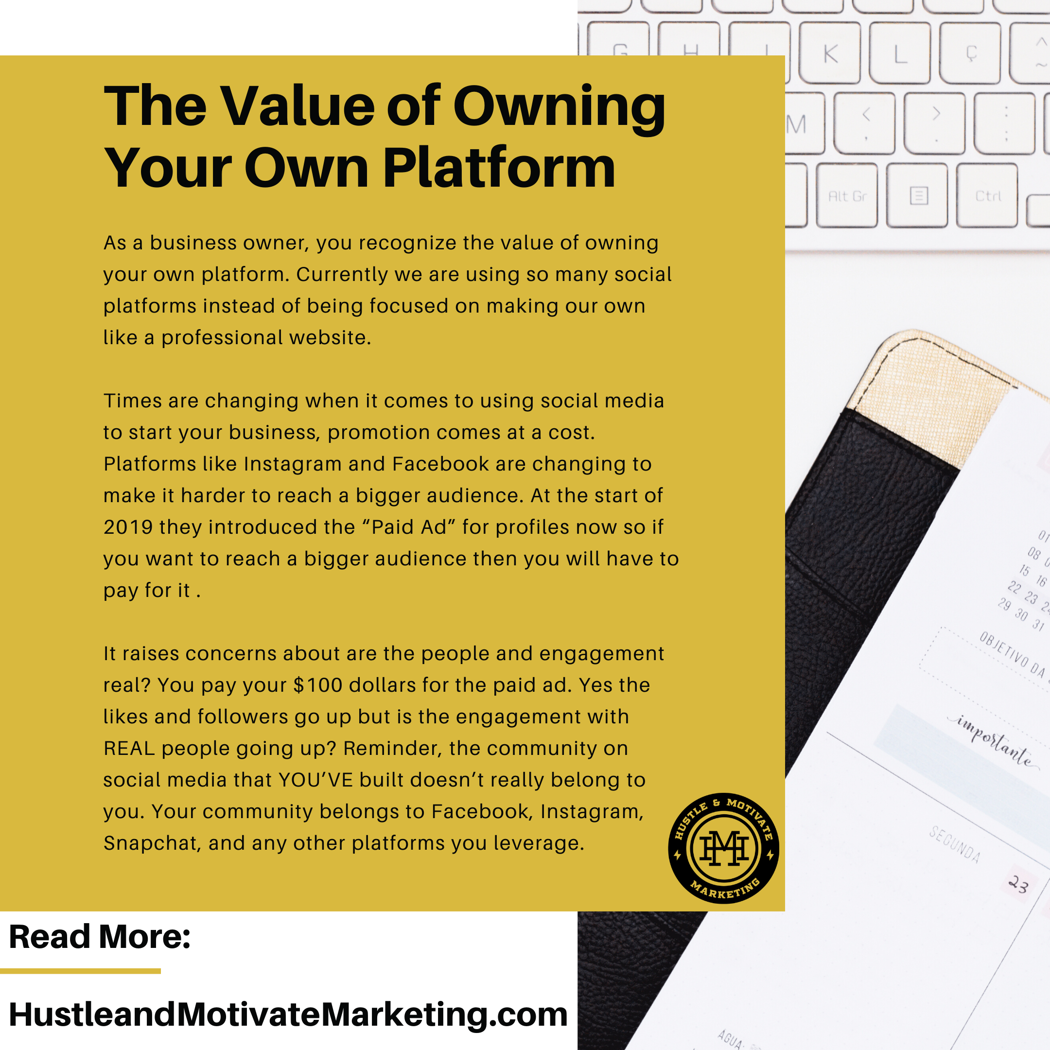 The Value of Owning Your Own Platform