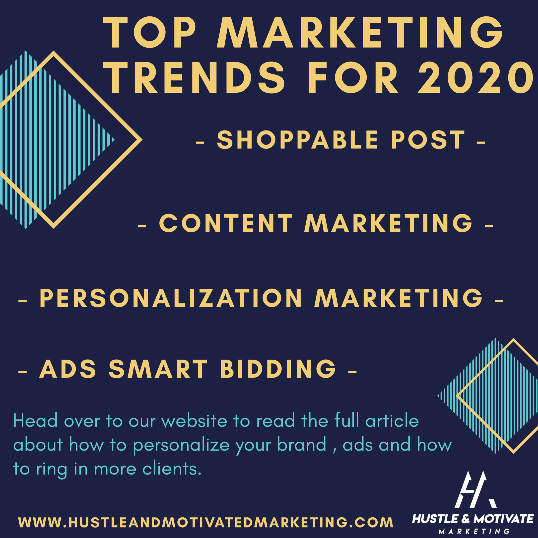 Monday Tips: Top Marketing Trends for 2020