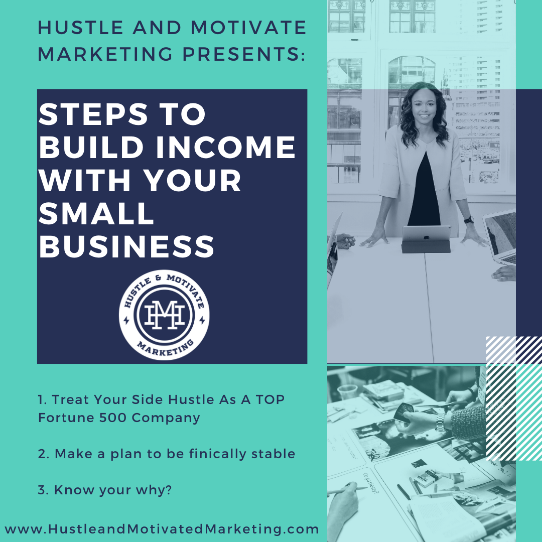 Marketing Tips: Steps to building income with your small business