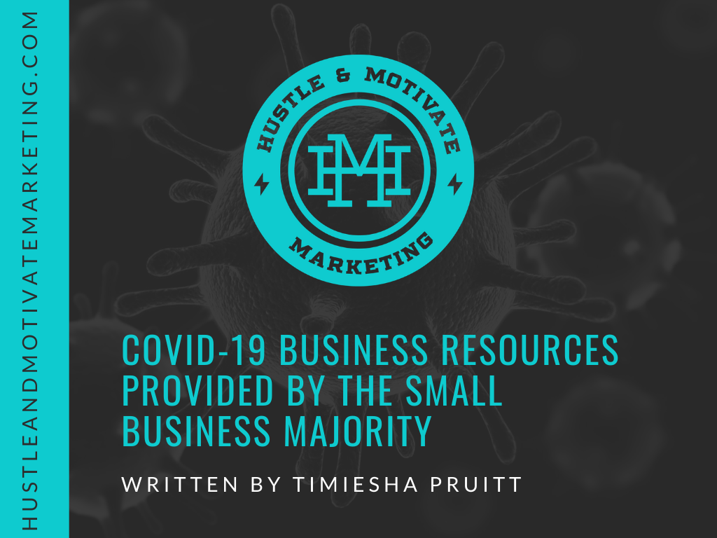 Covid-19 Business Resources provided by The Small Business Majority