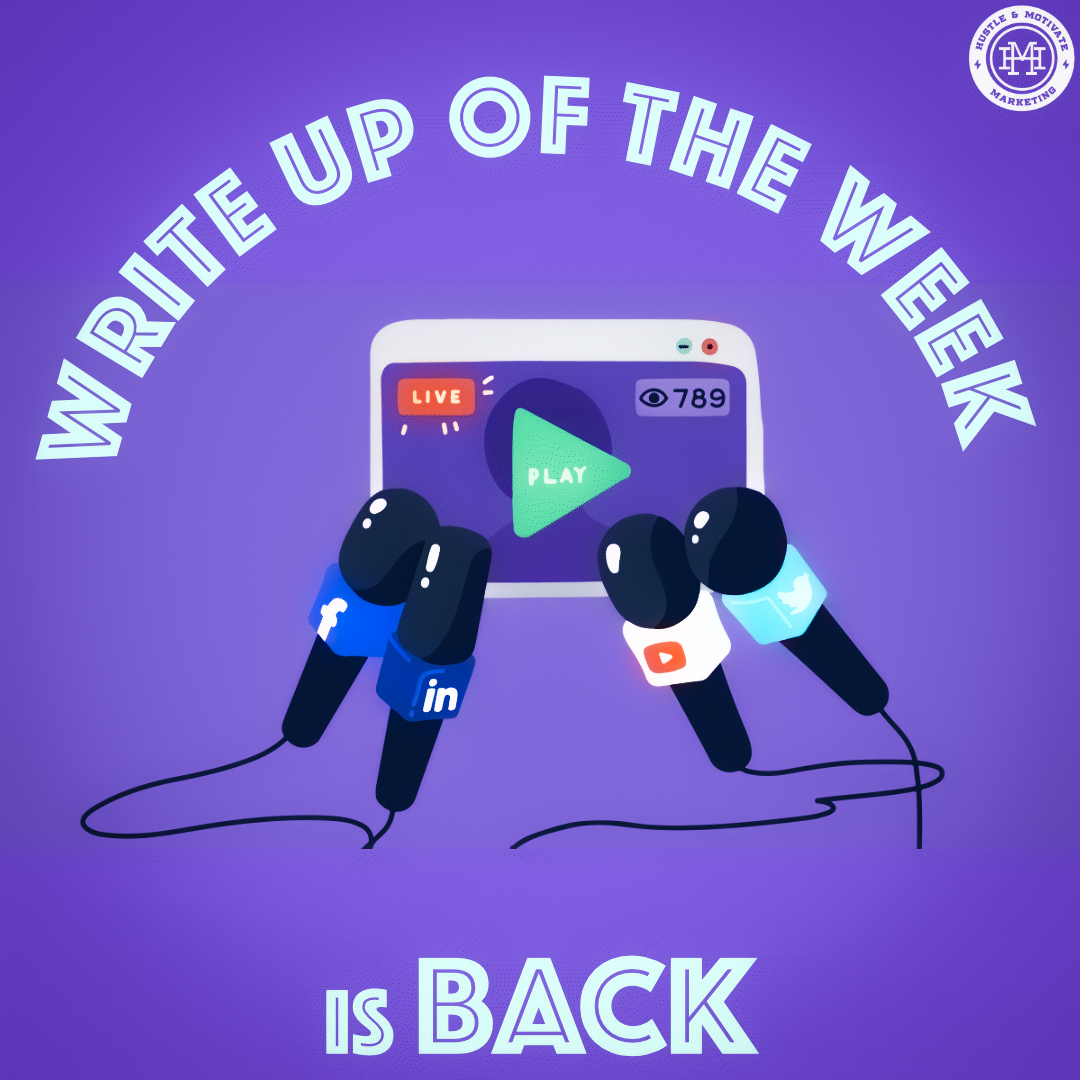 WRITE UP OF THE WEEK IS BACK!