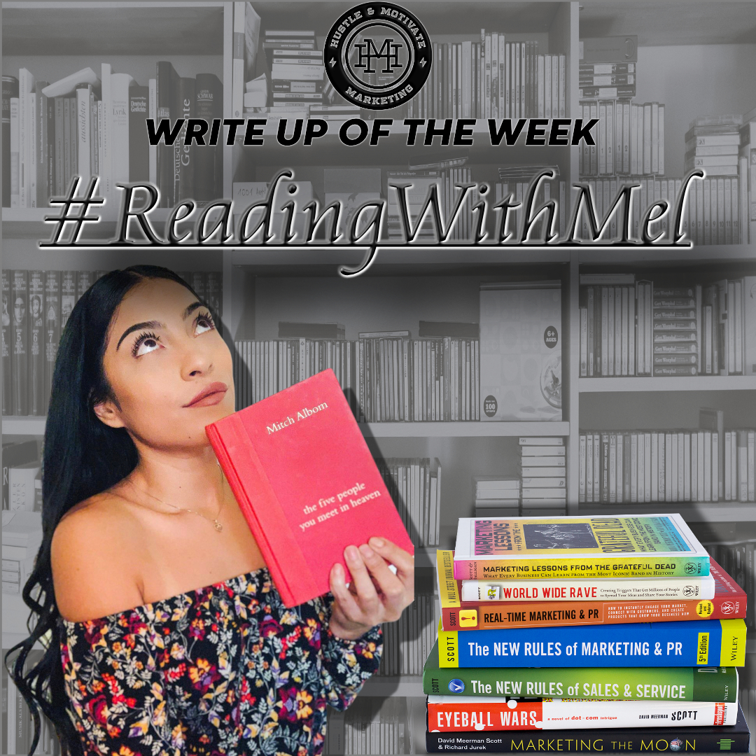 Write Up Of The Week Featuring #ReadingWithMel