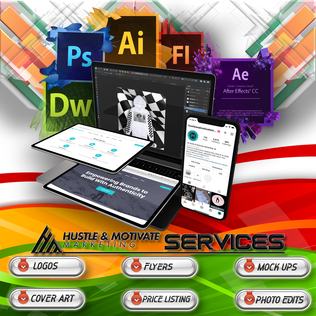 WE OFFER GRAPHIC DESIGNING NOW