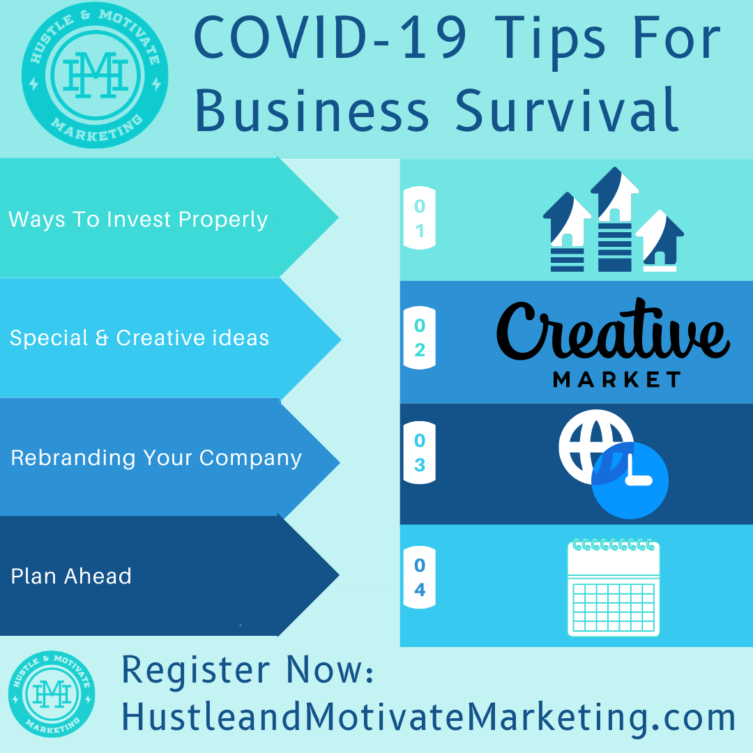 COVID-19 TIPS FOR BUSINESS SURVIVAL